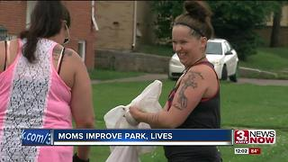 Mothers improve park, lives - Video