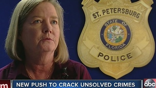 St. Pete police using social media to generate new tips for 6 cold cases - Video
