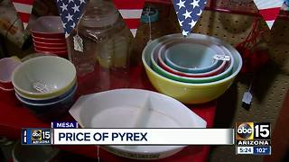 Old dishes your grandma left you may be worth a lot more than you think! - Video