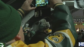 Packers pep rally - Video