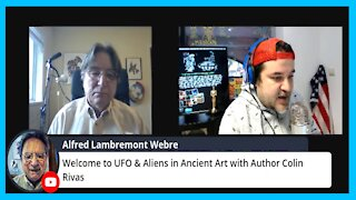 UFO & Aliens in Ancient Art w/ Alfred Webre Live!