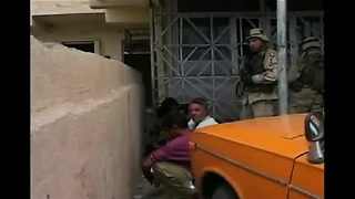 Violence in Mosul during 2003 invasion - Video