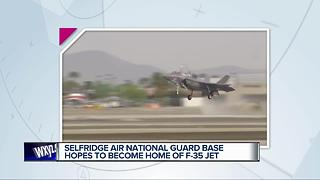Selfridge Air National Guard Base hopes to become home of F-35 Jet - Video