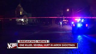 Akron shootings - Video