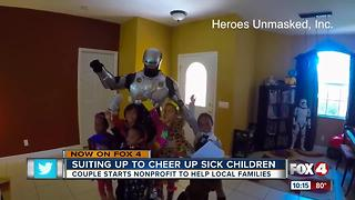 SWFL Couple starts no-profit to help sick, homebound children - Video