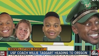 USF's Willie Taggart named head football coach at Oregon - Video