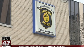 Jackson Police Chief retires, city holds ceremony - Video