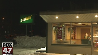 Subway robbed in Lansing on Sunday night - Video