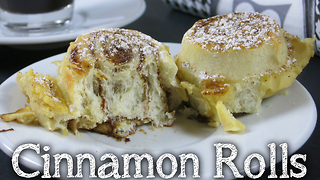 Cinnamon rolls on a vanilla cloud - Video