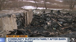 Community comes together after Port Washington family loses animals in fire - Video