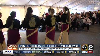 2017 St. Nicholas Greek Folk Festival kicks off - Video