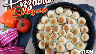 Pizza bun bolognese recipe - Video