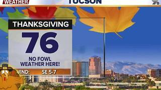 Chief Meteorologist Erin Christiansen's KGUN 9 Forecast Wednesday, November 23, 2016 - Video