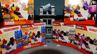 KRE-O TRANSFORMERS BRICK BOX - Video