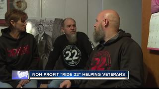 Local marine trying to stop veteran suicides - Video