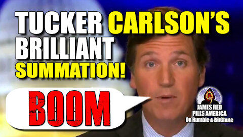 Tucker Carlson Sums It ALL Up BRILLIANTLY! How Is He Still On Fox After He Ripped Their GUTS OUT?!