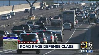 How to defend yourself against road rage - Video