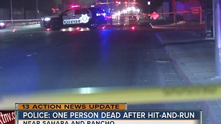 Police arrest driver that hit and killed pedestrian - Video