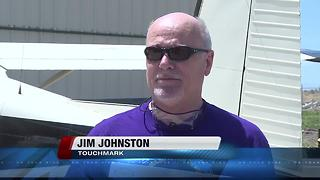 Treasure Valley man skydives for Alzheimer's awareness - Video