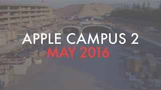 An Update on Construction of Apple's Vast Campus 2 - Video