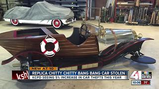 Replica 'Chitty Chitty Bang Bag' car stolen from Kansas City costume store - Video