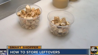Tips for storing Thanksgiving leftovers - Video