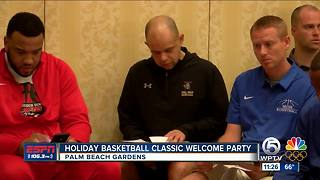 Holiday Basketball Classic Welcome Party - Video