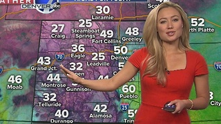 Below zero temperatures for the Front Range this week - Video