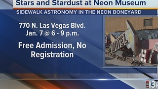 Neon Museum hosting stargazing event Saturday - Video