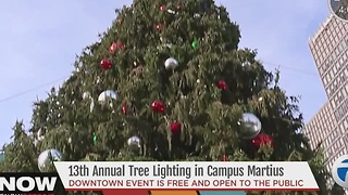 WXYZ to broadcast Detroit Tree Lighting on Friday, Nov. 18