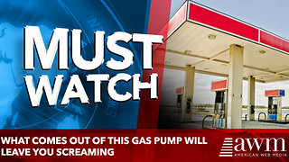 What Comes out of this gas pump Will Leave You Screaming - Video