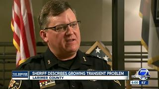 Larimer County Sheriff fed up with 'criminal transients' he says 'flooding community' - Video