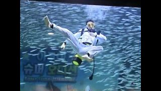 Divers Dance With Fish At Aquarium - Video