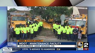 Good morning from the MDOT maintenance facility in Anne Arundel County - Video