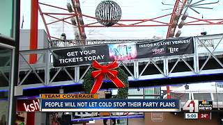 Power & Light District gets ready for New Year's Eve celebration - Video