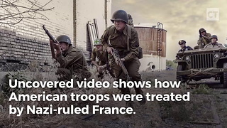 Ww2 Footage Reveals How French Treated American Pows - Video