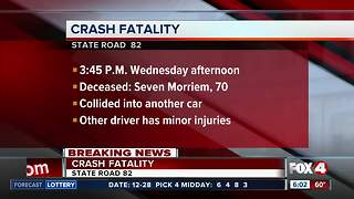 Lehigh Acres man dies in State Road 82 crash - Video