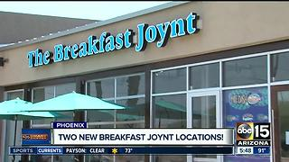 Breakfast Joynt opens two new locations - Video