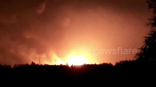 Explosion at petrochemical factory kills eight in eastern China - Video