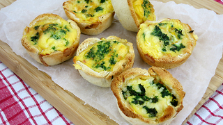 All-in-one breakfast sandwich cups - Video