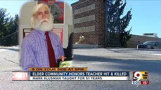Elder High community remembers longtime teacher Mark Klusman - Video