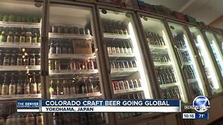 Colorado's craft beers are showing up on Japanese shelves as craft brew craze heads overseas - Video
