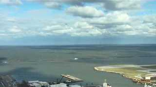 US Coast Guard, Royal Canadian Air Force Search Lake Erie for Missing Plane - Video