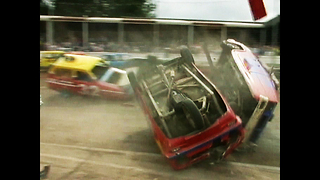 3-Wheeled Demolition Derby - Video