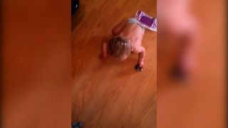 When Dad Is Left To Baby Sit - Video