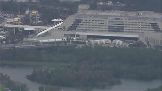 Police respond to suspicious vehicle at Orlando International, scene cleared - Video