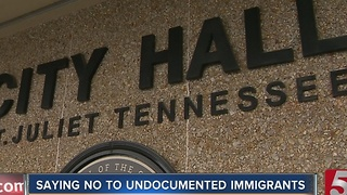 Mt. Juliet's 'No Sanctuary' Resolution Receives Backlash - Video