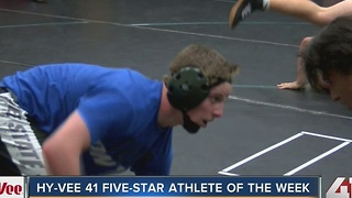 Hy-Vee 41 Five-Star Athlete of the Week: Tate Steele - Video