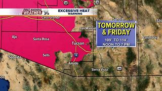 Chief Meteorologist Erin Christiansen's KGUN 9 Forecast Wednesday, July 5, 2017 - Video
