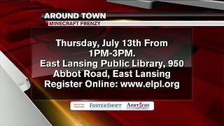 Around Town 7/12/17: Minecraft Frenzy at East Lansing Public Library - Video